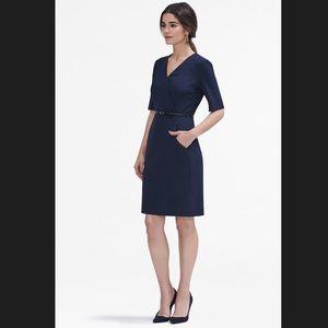 M.M. LaFleur The Maxwell Dress Galaxy Blue - $195